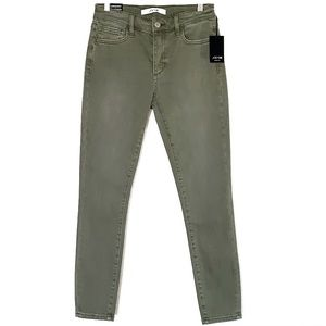 BNWT Joe's Jeans Olive Denim Pant